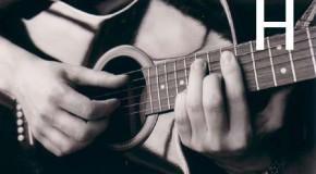 Аккорды H, Hm, H7, H6, Hm6 на гитаре