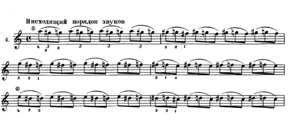 legato v