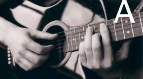 Аккорды A, Am, A7, A6, Am6 на гитаре