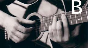Аккорды B, Bm, B7, B6, Bm6 на гитаре