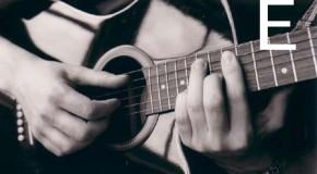 Аккорды E, Em, E7, E6, Em6 на гитаре