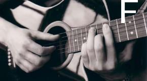 Аккорды F, Fm, F7, F6, Fm6 на гитаре