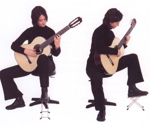 Посадка гитариста.