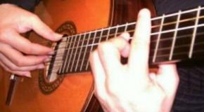 Как брать (зажимать) барре на гитаре