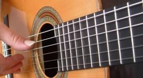 Тремоло на гитаре